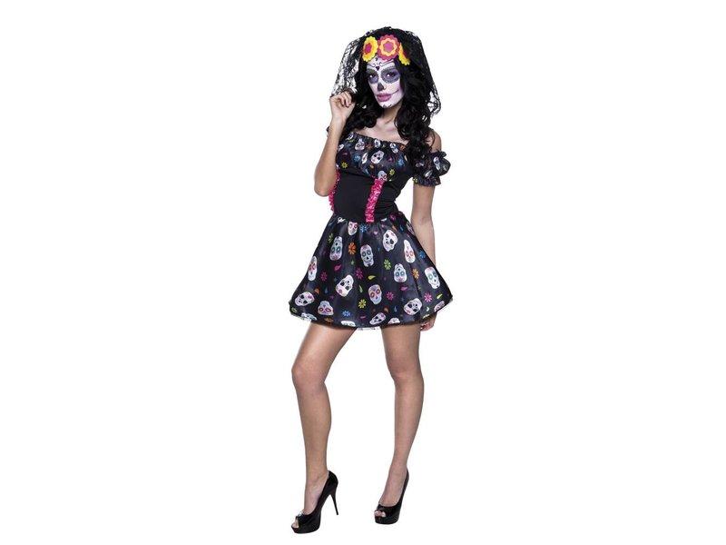 Dia de los Muertos dress 'Skully' (Day of the Dead)