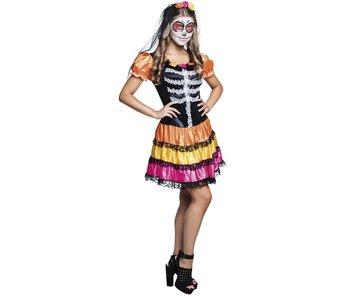 Costume 'Niña Pelona' (age: 14-16)