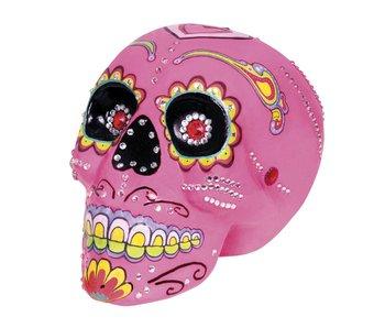 Sugar skull pink (Dia de los Muertos)