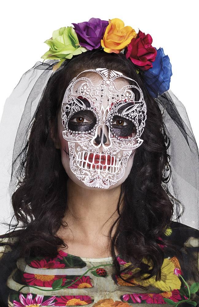 Tiara crown 'La Calaca' (Dia de los Muertos / Day of the dea