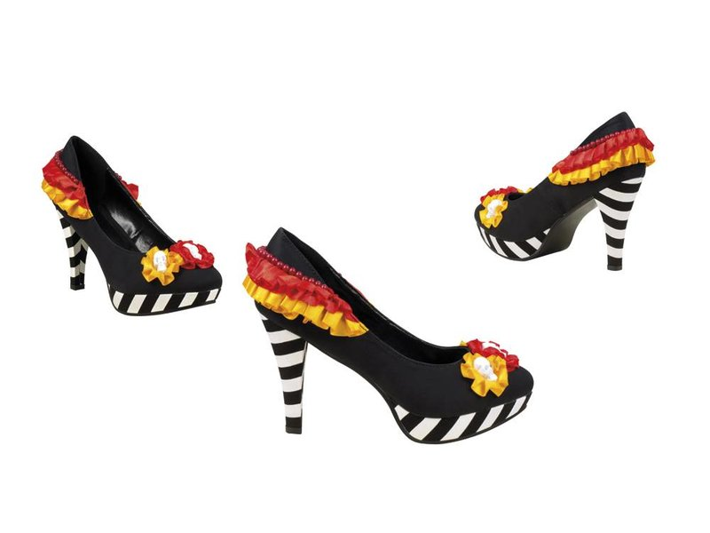 Hoge hakken Day of the dead (Dia de los Muertos schoenen)