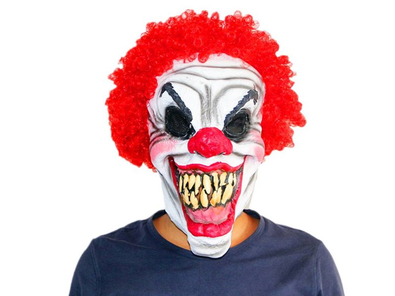 Killer clown masker 'Smiley'