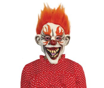 Killer Clown mask - 'Hot Rod'