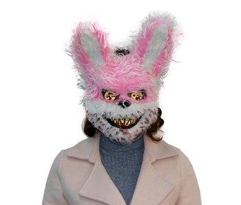 Halloween mask  'Pink horror rabbit'