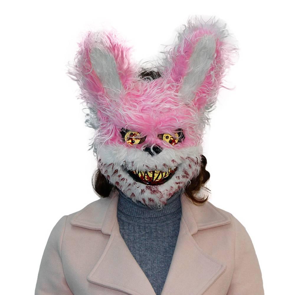 Halloween Masker.Halloween Masker Roze Horror Beer Mistermask Nl