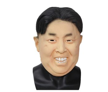 Maschera di Kim Jong-Un