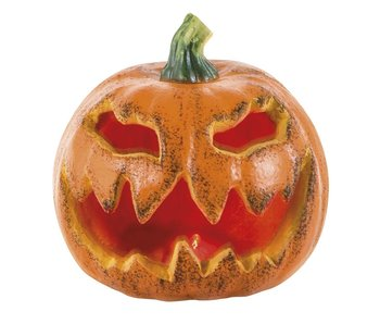 Decoration Blinking pumpkin 16cm