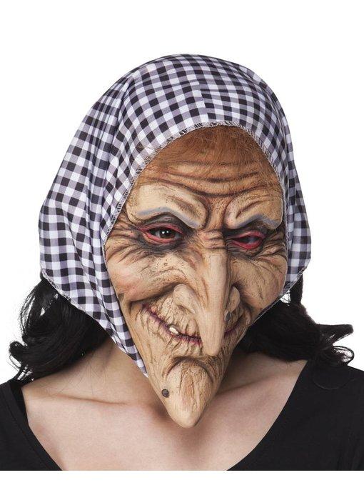 Heksmasker met hoofddoek