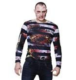 Fotorealistisch shirt Zombie prisoner (M/L)