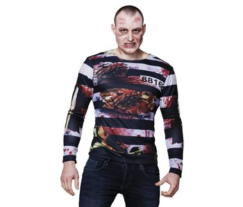 Photorealistic shirt 'Zombie prisoner'