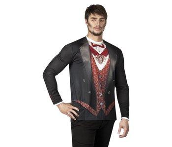 Fotorealistisch shirt Vampire (L)