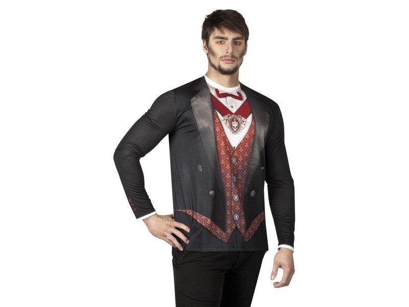 Fotorealistisch shirt 'Vampire' (L)