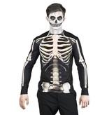 Fotorealistisch shirt 'Skeleton'