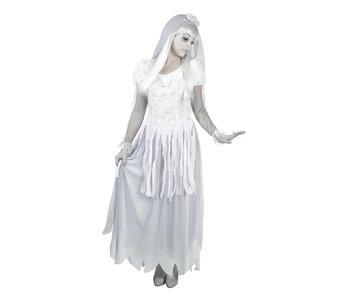 Volwassenenkostuum Ghost bride (36/38)