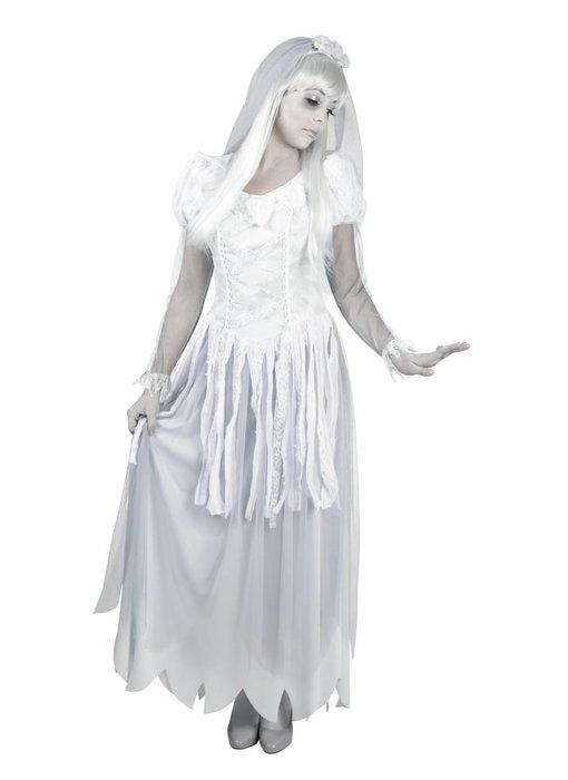 Volwassenenkostuum Ghost bride