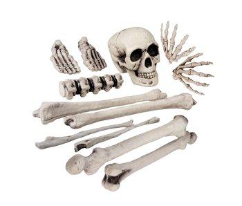 Doodshoofd en beenderen (12 stuks )
