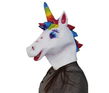 Unicorn mask 'rainbow'