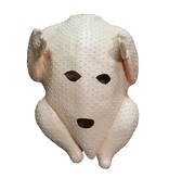 Kippenkop masker (kalkoen)