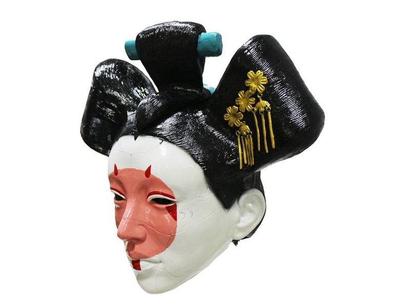 Geisha masker (Ghost in the shell)