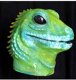 Salamander masker (groen)