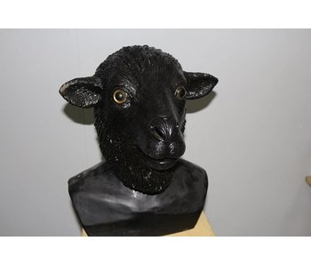 Sheep mask  (black)