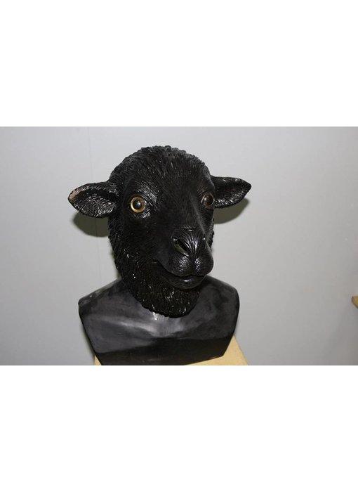 Schaapmasker (zwart)