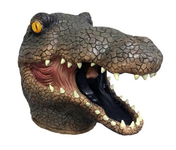 Crocodile mask  (brown)