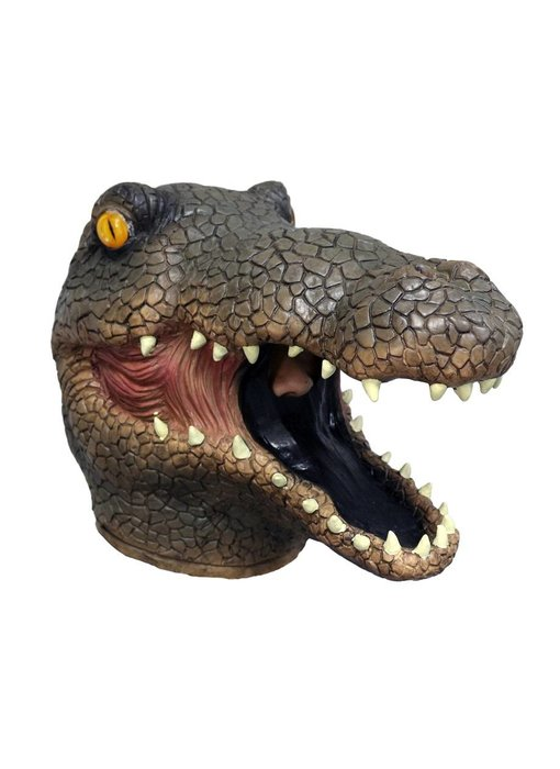 Krokodilmasker (bruin)