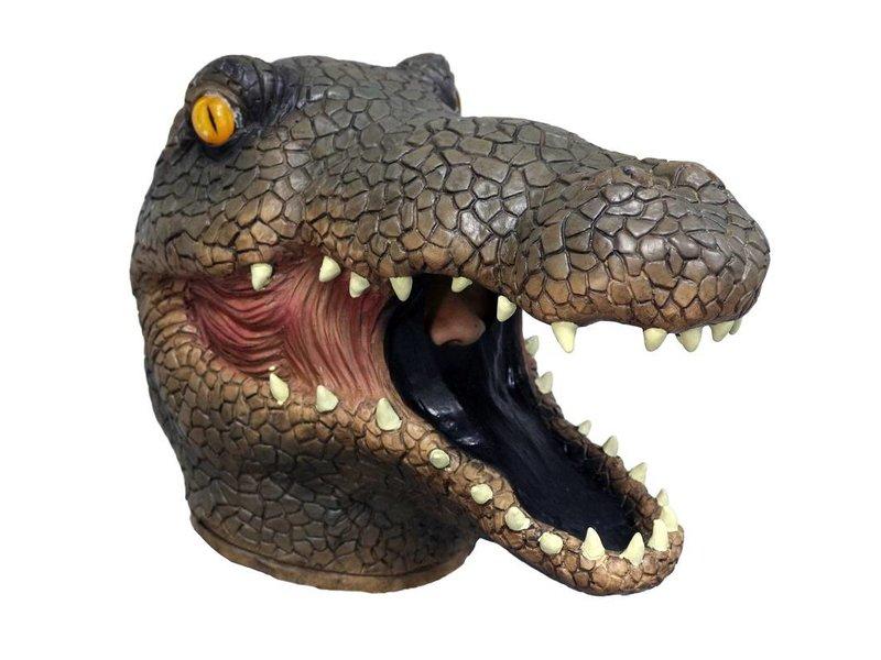 Crocodile mask  (brown)
