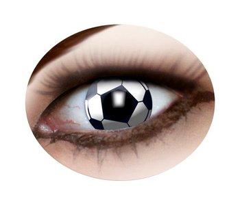Voetbal contactlenzen