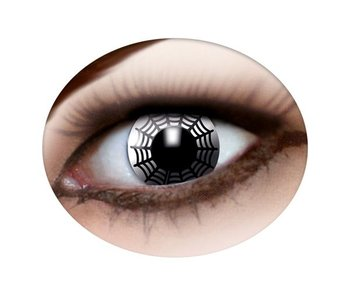 Spider web contact lenses