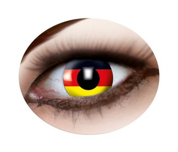 German Flag contact lenses