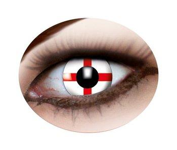 English flag contact lenses