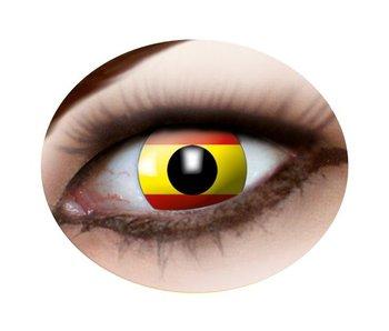 Spanish flag lenses (Spain)