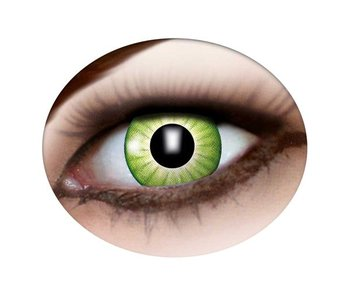 Green witch contacts