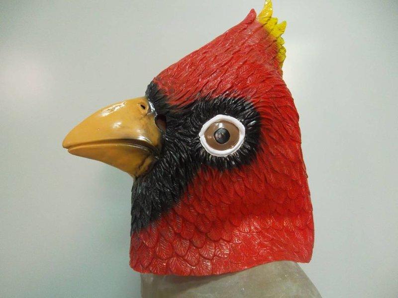 Bird mask 'Red Cardinal'