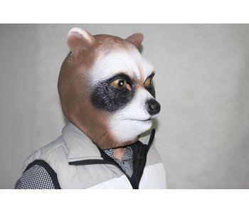 Raccoon mask (brown)