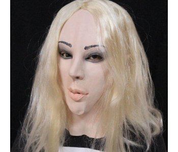 Female mask (blond)