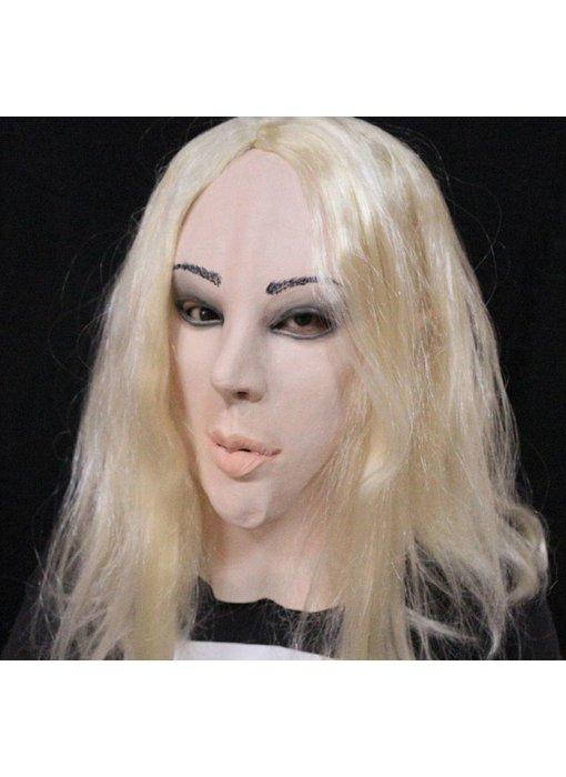 Female mask (blond)