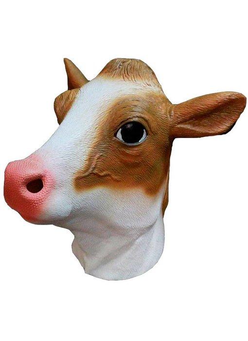 Koe masker (bruin)