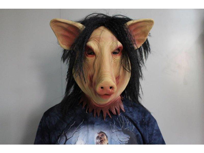 Jigsaw Pig masker