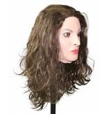Vrouwenmasker (bruin haar)