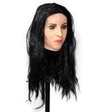 Vrouwenmasker Monica Bellucci (zwart haar)