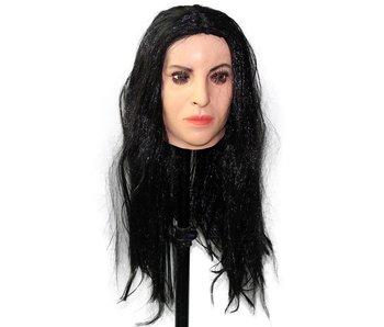 Female mask Monica Bellucci