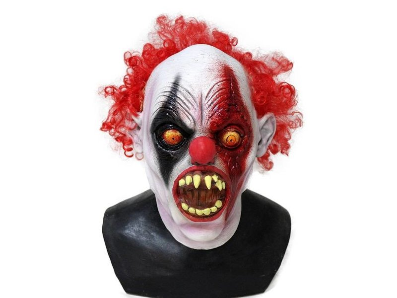 Horror clown mask 'Scar'