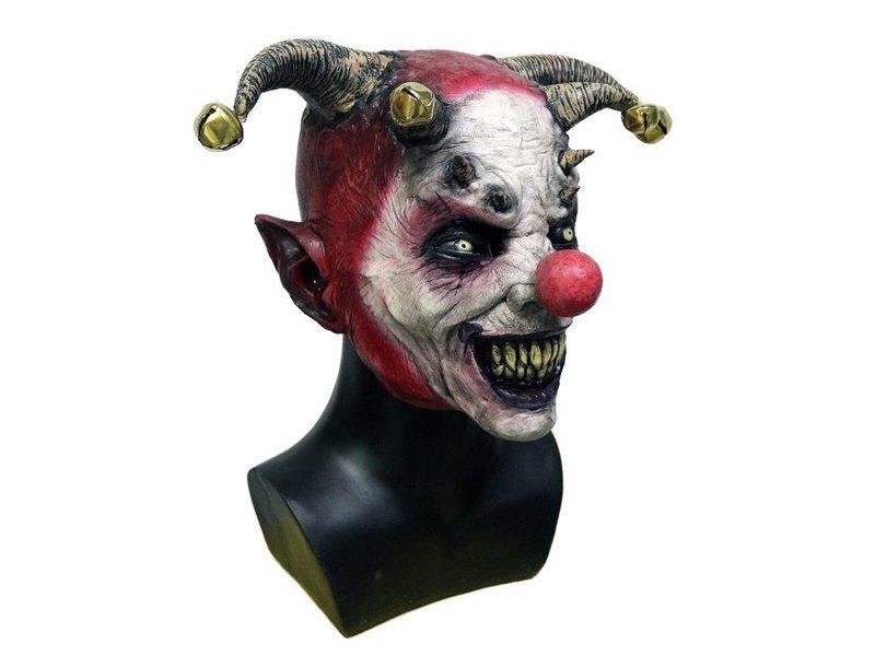 Horror clown mask 'Jingle Hell'