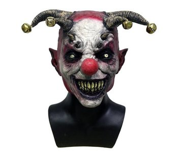 Clown mask 'Jingle Hell'