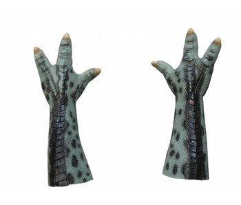 Dierenpoot handschoen/prop