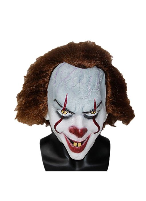 Pennywise masker Deluxe 'IT' (2017)