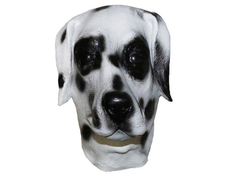 latex hondenmasker 'Dalmatiër'